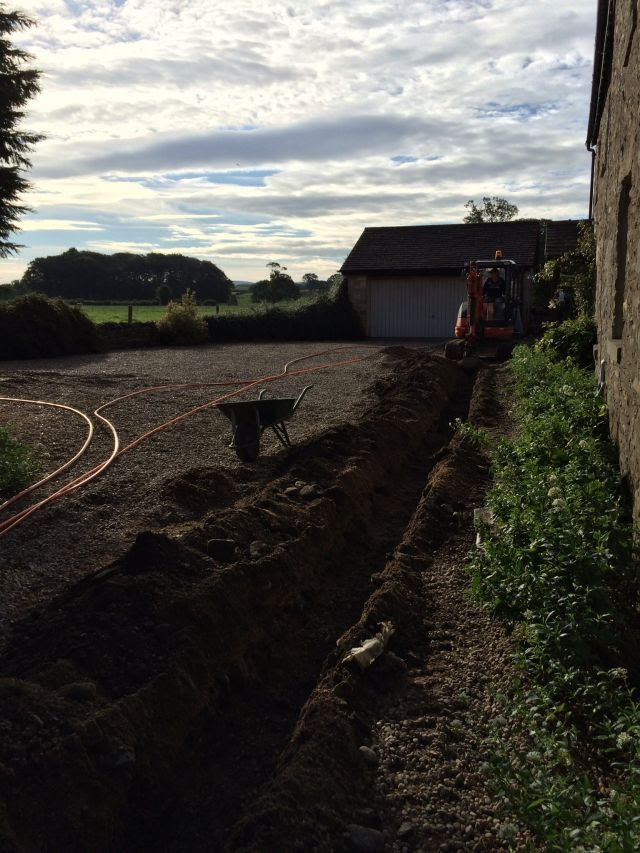 The start of the dig